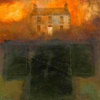 Memory of the House, Bangor Erris I by Hughie O'Donoghue