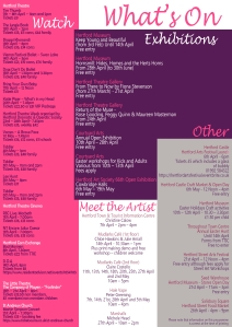 Hertford Arts Festival brochure PDF