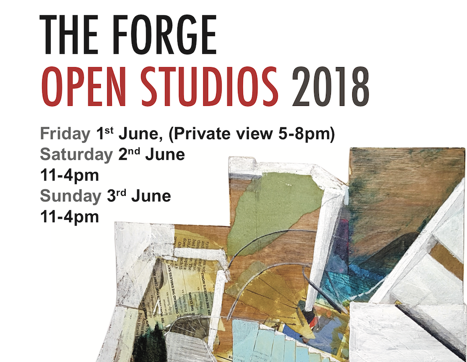 Open Studios @ The Forge Digswell  1st-3rd June 2018
