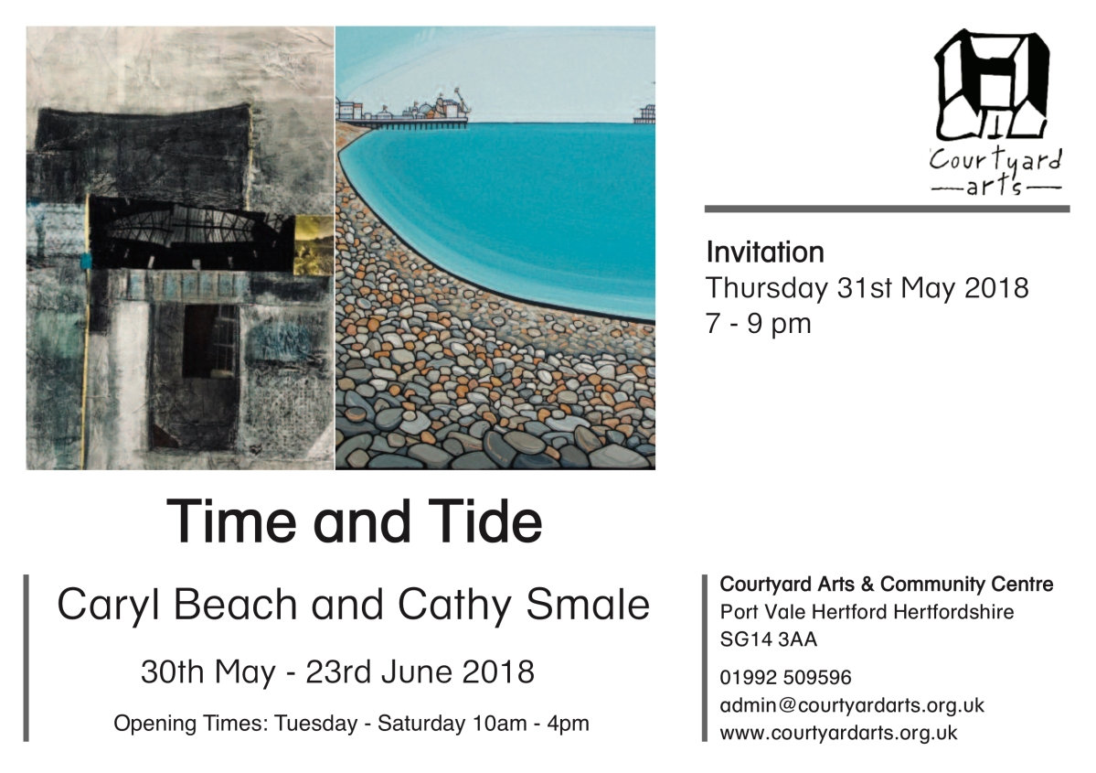 Time and Tide at Courtyard Arts Continues.....