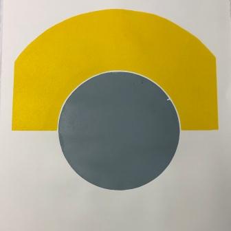 A1 mono print