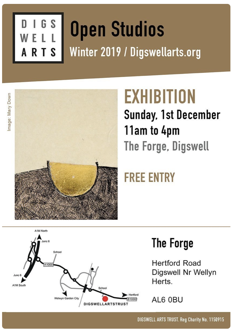 Open Studio at The Forge December 1st 2019