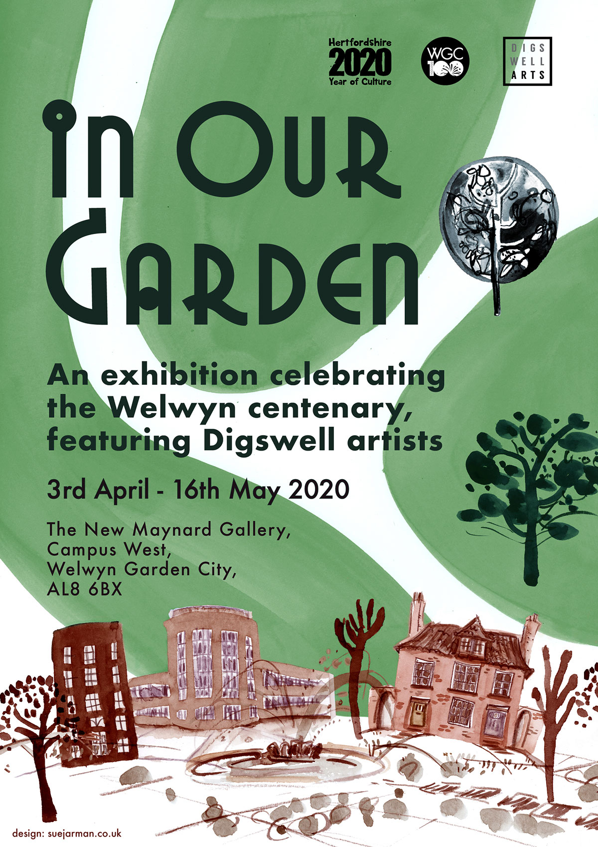 'In Our Garden' Exhibition at New Maynard Gallery